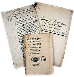 (St-Julien) Les cahiers de doléances