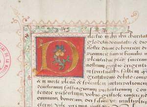 Écrire au Moyen Âge
