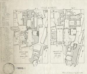 (St-Julien) Une place urbaine au XVIIIe siècle : la place d'armes de Metz